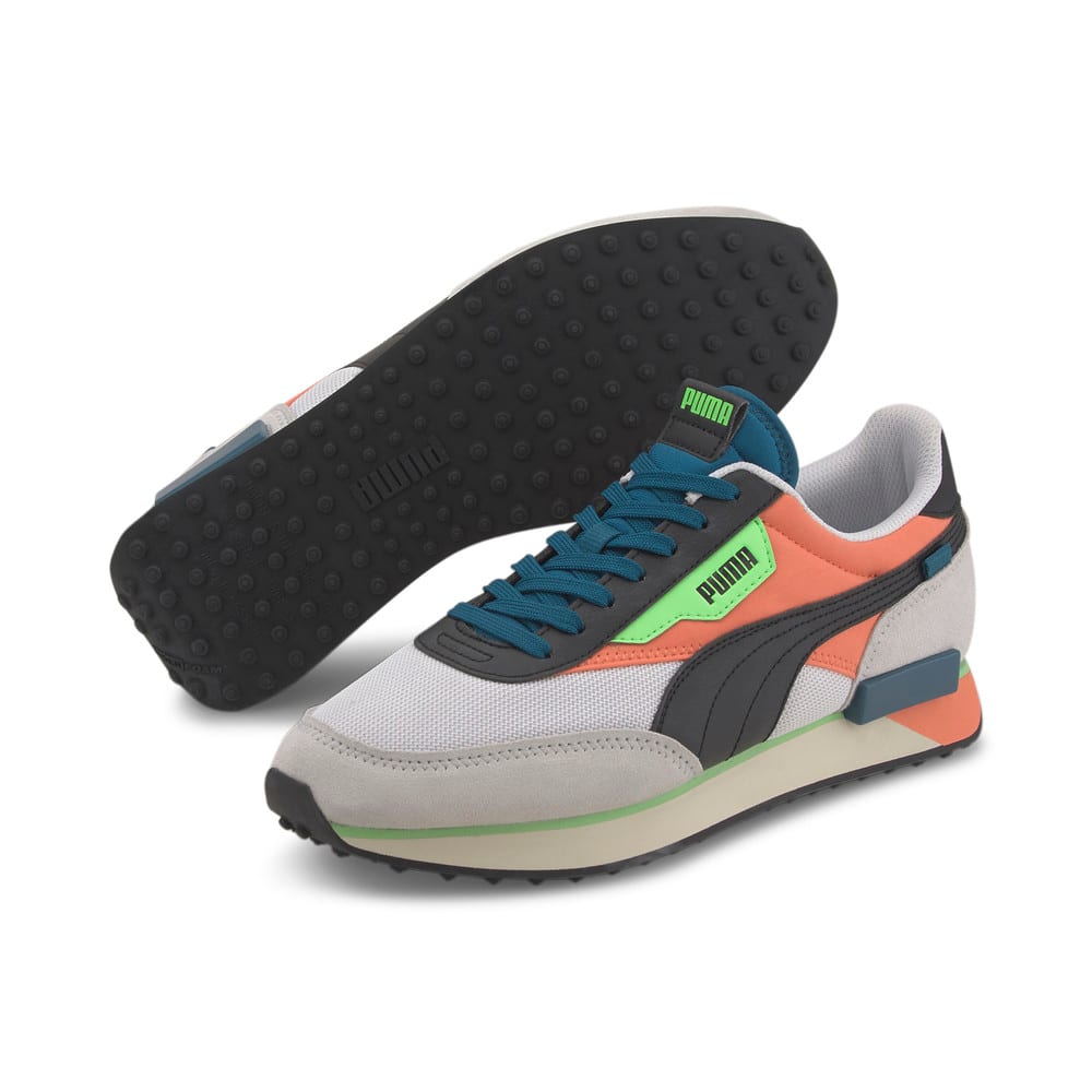 Image Puma Future Rider Neon Play Trainers #2