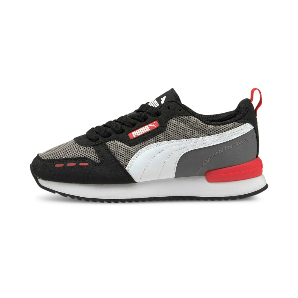 Изображение Puma Детские кроссовки R78 Youth Trainers #1: Steel Gray-Puma White-Puma Black