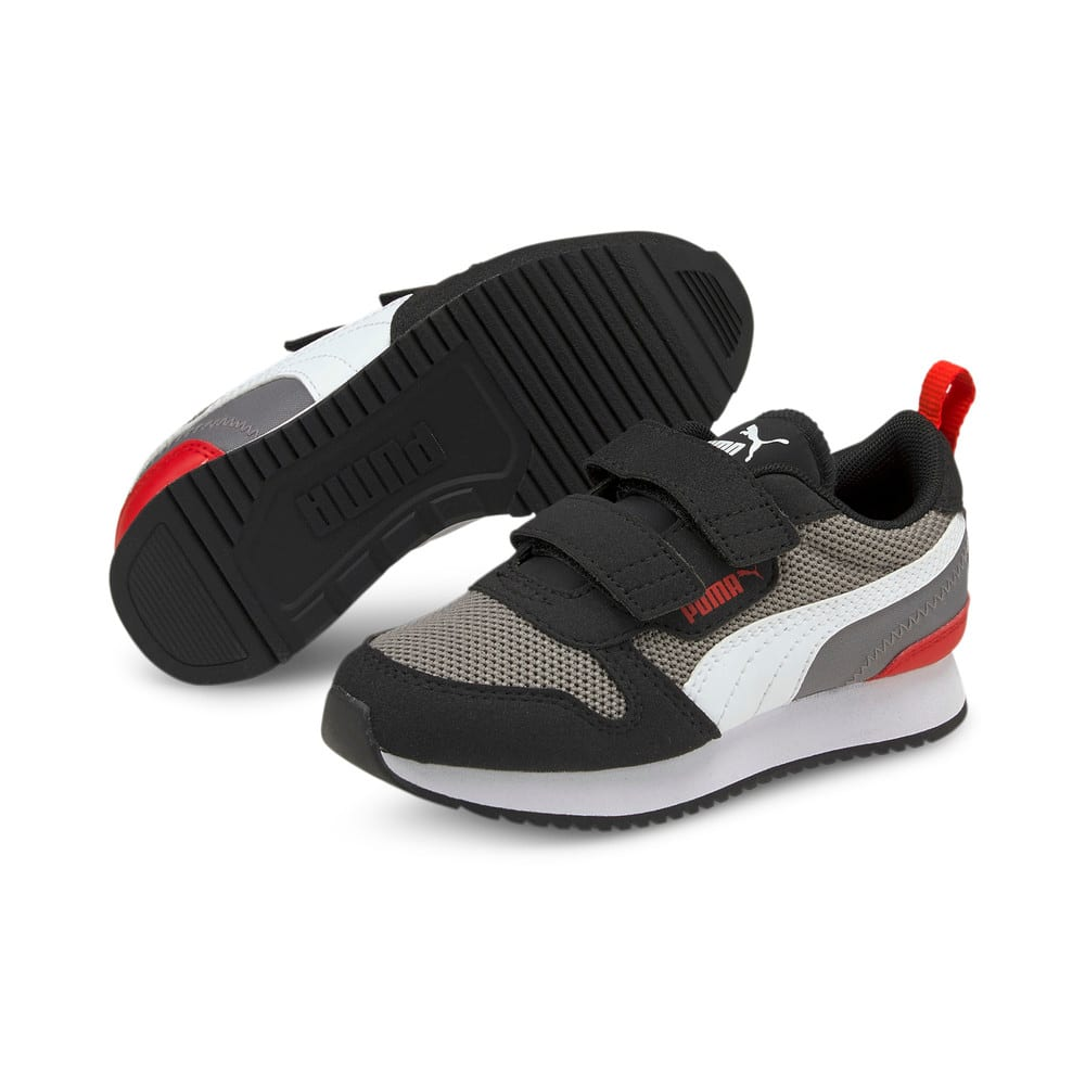 Зображення Puma Кросівки R78 Kids' Trainers #2: Steel Gray-Puma White-Puma Black