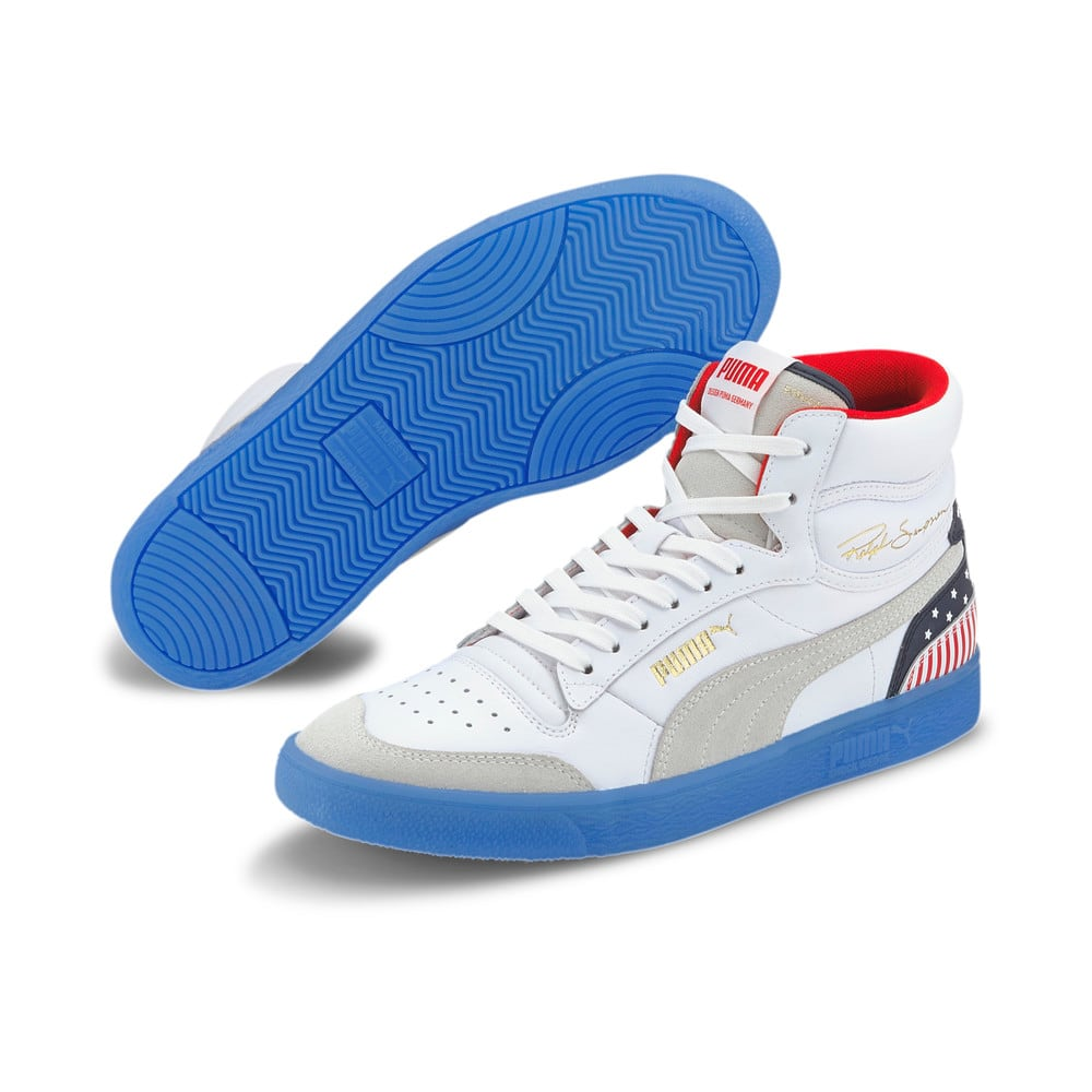 Image Puma Ralph Sampson Mid 4th of July Trainers #2