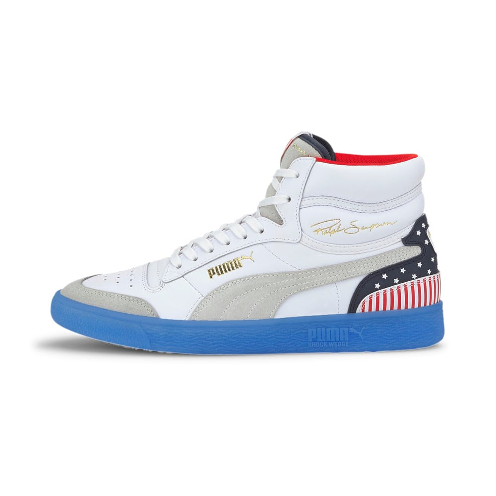Image Puma Ralph Sampson Mid 4th of July Trainers #1