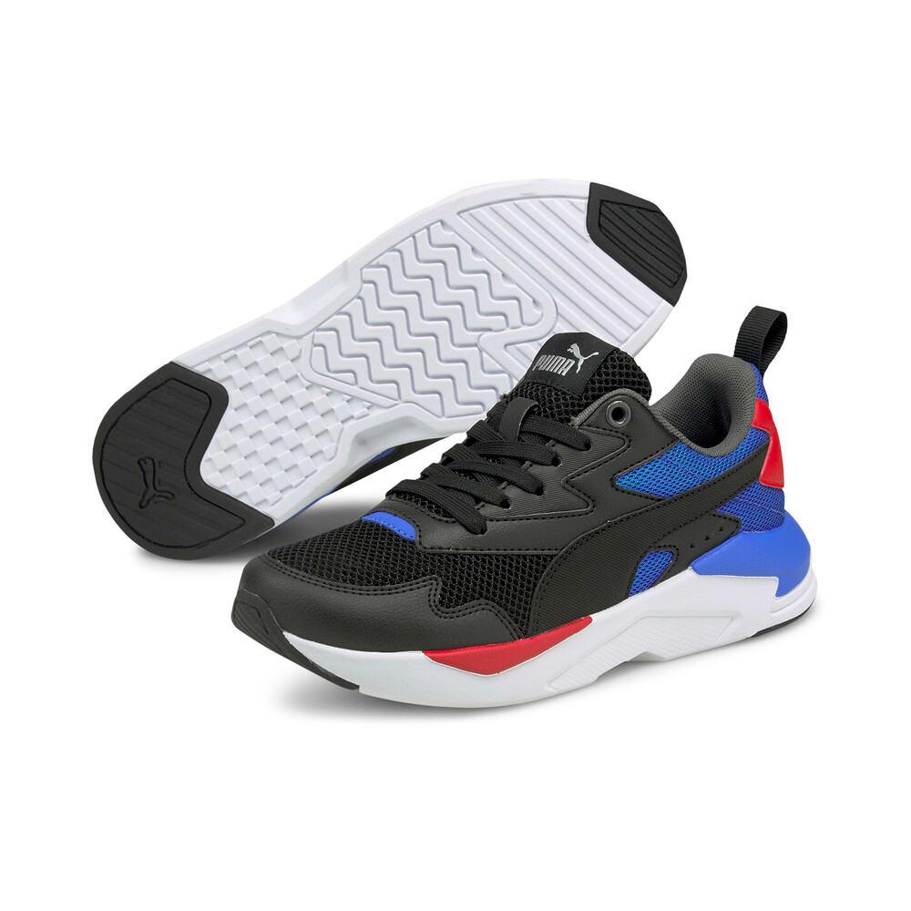 Зображення Puma Дитячі кросівки X-Ray Lite Jr #2: Puma Black-Puma Black-Nebulas Blue-Urban Red-Puma Silver