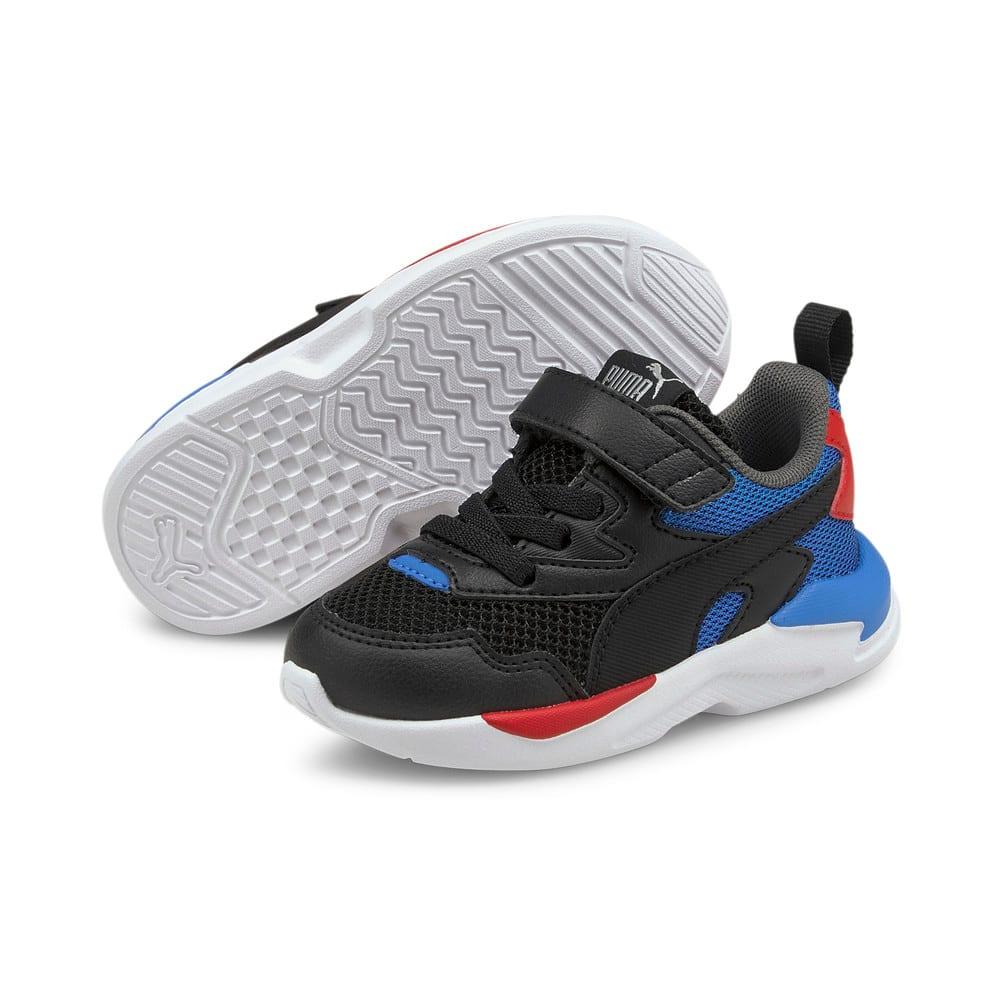 Зображення Puma Дитячі кросівки X-Ray Lite AC Inf #2: Puma Black-Puma Black-Nebulas Blue-Urban Red-Puma Silver