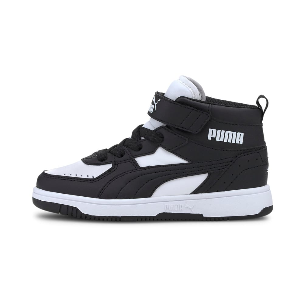 Изображение Puma Детские кеды Rebound JOY Kids' Trainers #1: Puma Black-Puma Black-Puma White