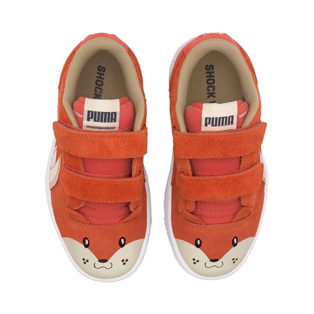 Изображение Puma Детские кеды Ralph Sampson Animals V PS #1