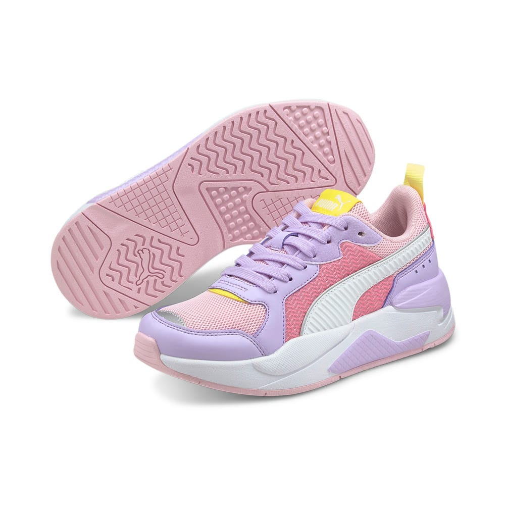 Image Puma X-Ray Neon Pastel Youth Trainers #2
