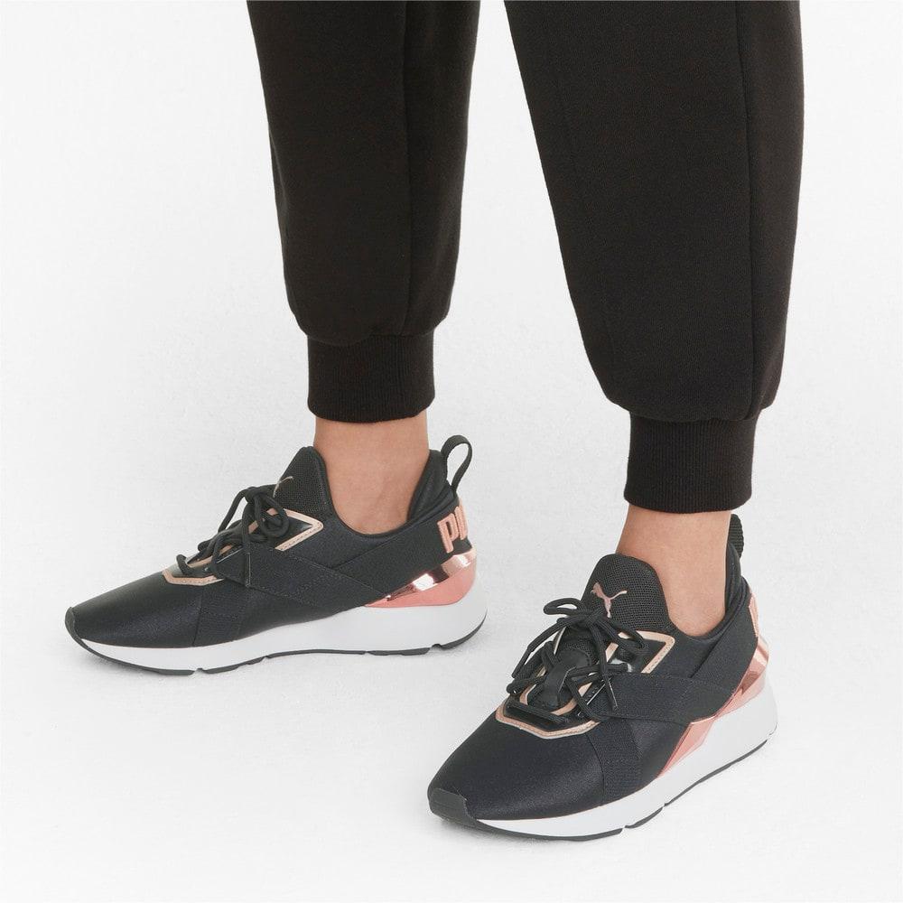 Görüntü Puma Muse X3 METALLIC Kadın Ayakkabı #2