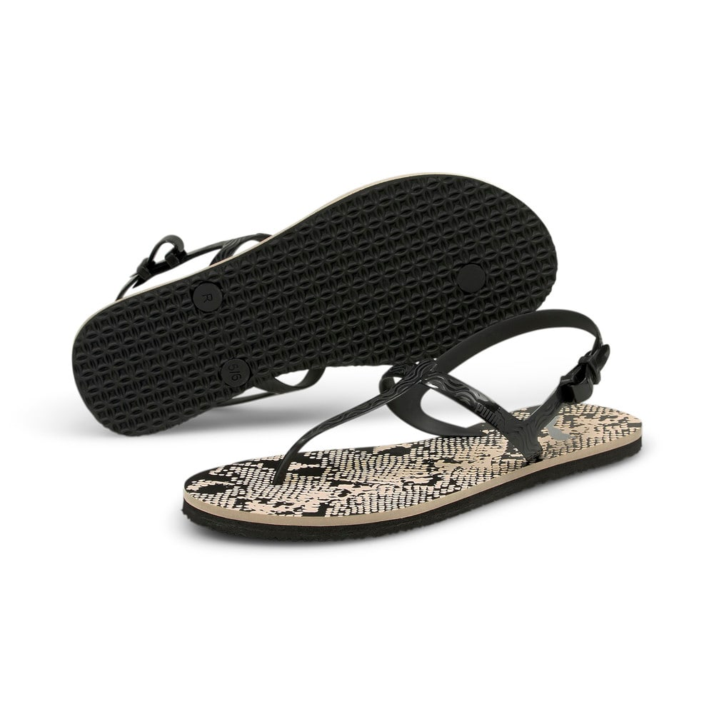 Изображение Puma Сандалии Cosy Untamed Women's Sandals #2: Shifting Sand-Puma Black