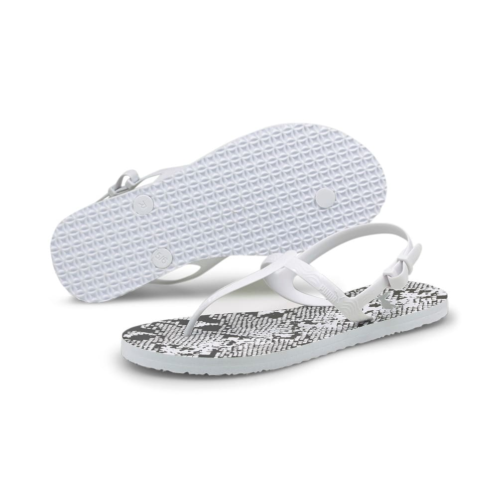 Изображение Puma Сандалии Cosy Untamed Women's Sandals #2: Puma White-Puma Black