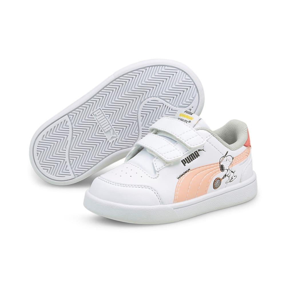 Görüntü Puma PUMA x PEANUTS Shuffle Bebek Ayakkabı #2