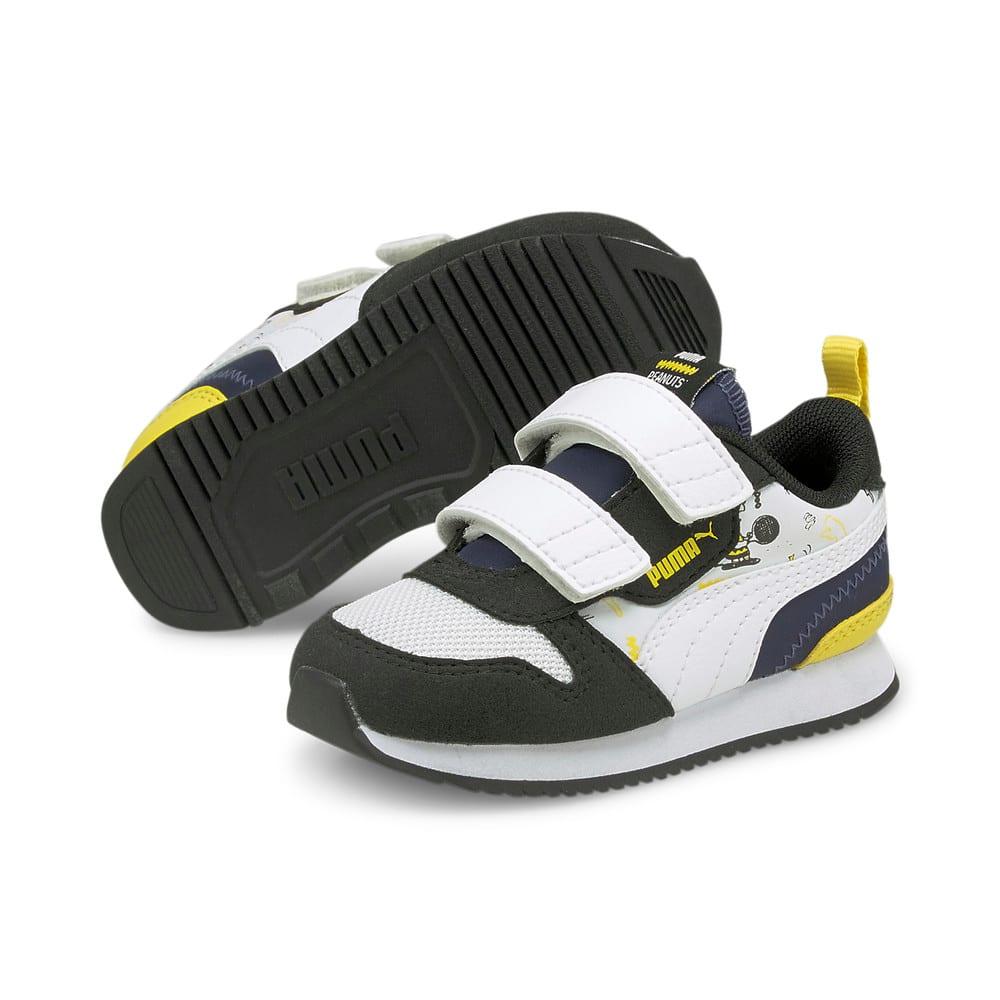 Изображение Puma Детские кроссовки PUMA x PEANUTS R78 V Babies' Shoes #2