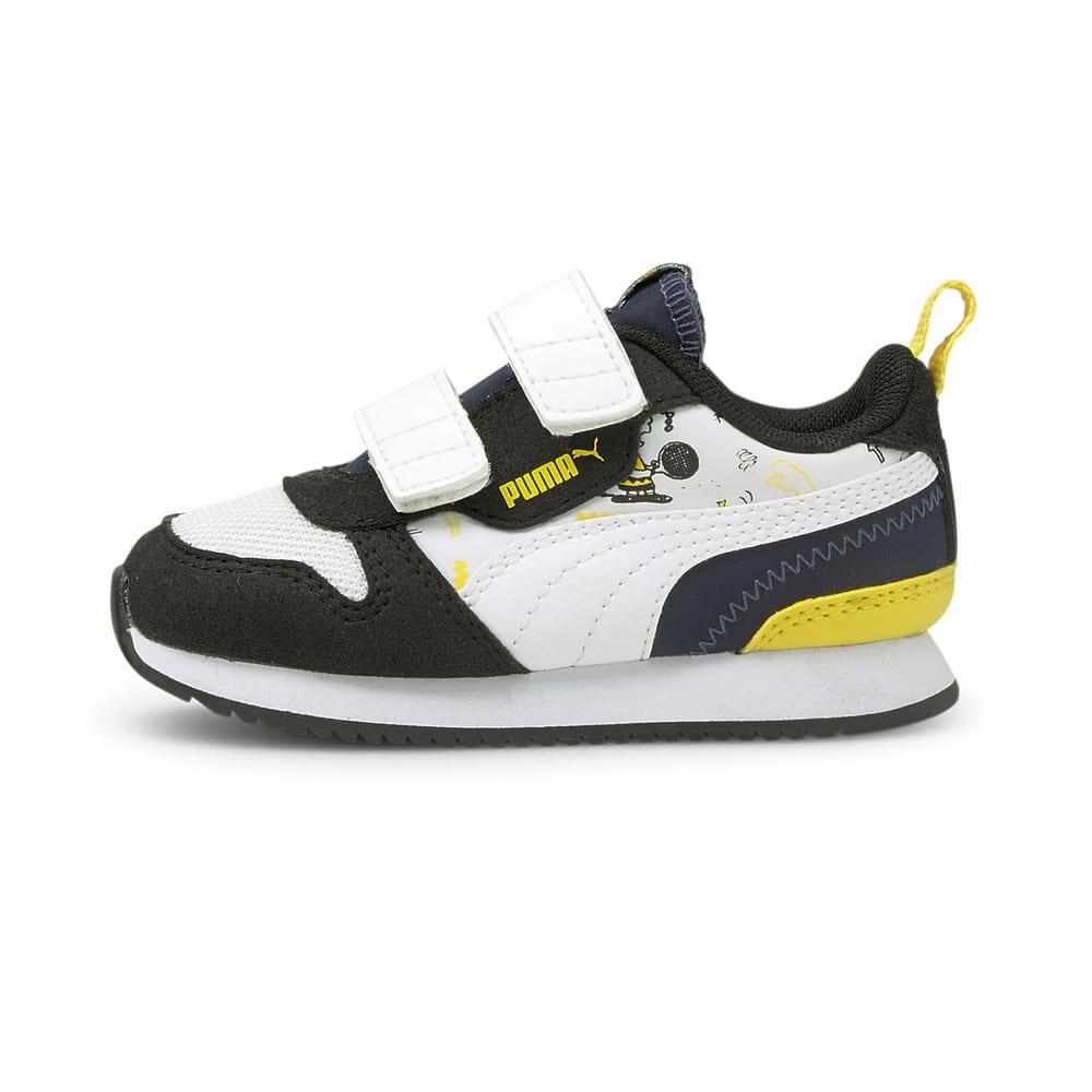 Изображение Puma Детские кроссовки PUMA x PEANUTS R78 V Babies' Shoes #1