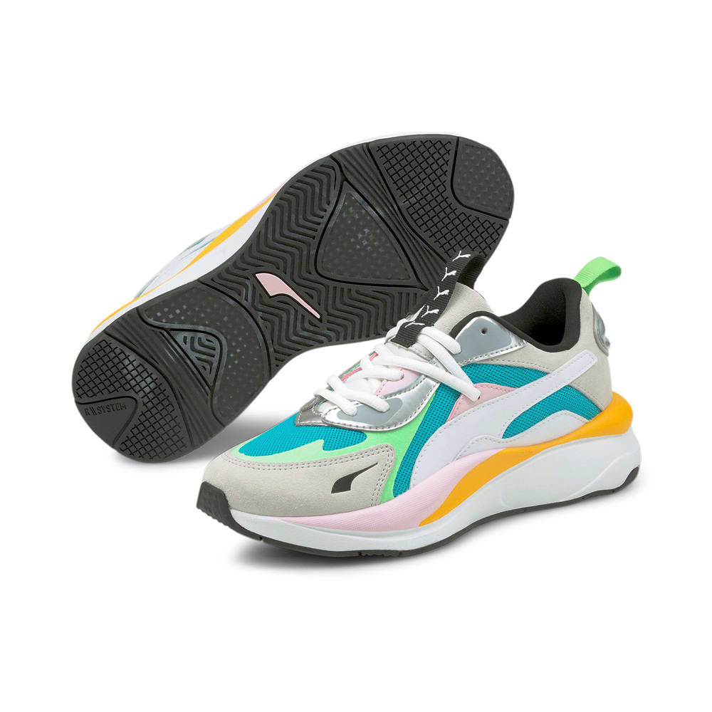 Зображення Puma Кросівки RS-Curve Aura Women's Trainers #2: Scuba Blue-Puma Silver-Puma White