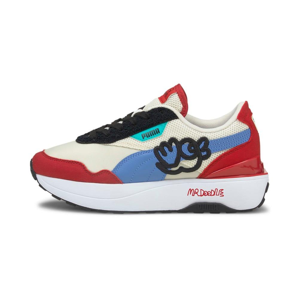 Görüntü Puma PUMA x MR DOODLE CRUISE RIDER Kadın Antrenman Ayakkabı #1