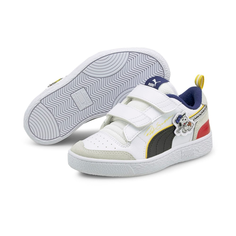 Изображение Puma Детские кеды PUMA x PEANUTS Ralph Sampson V Kids' Trainers #2