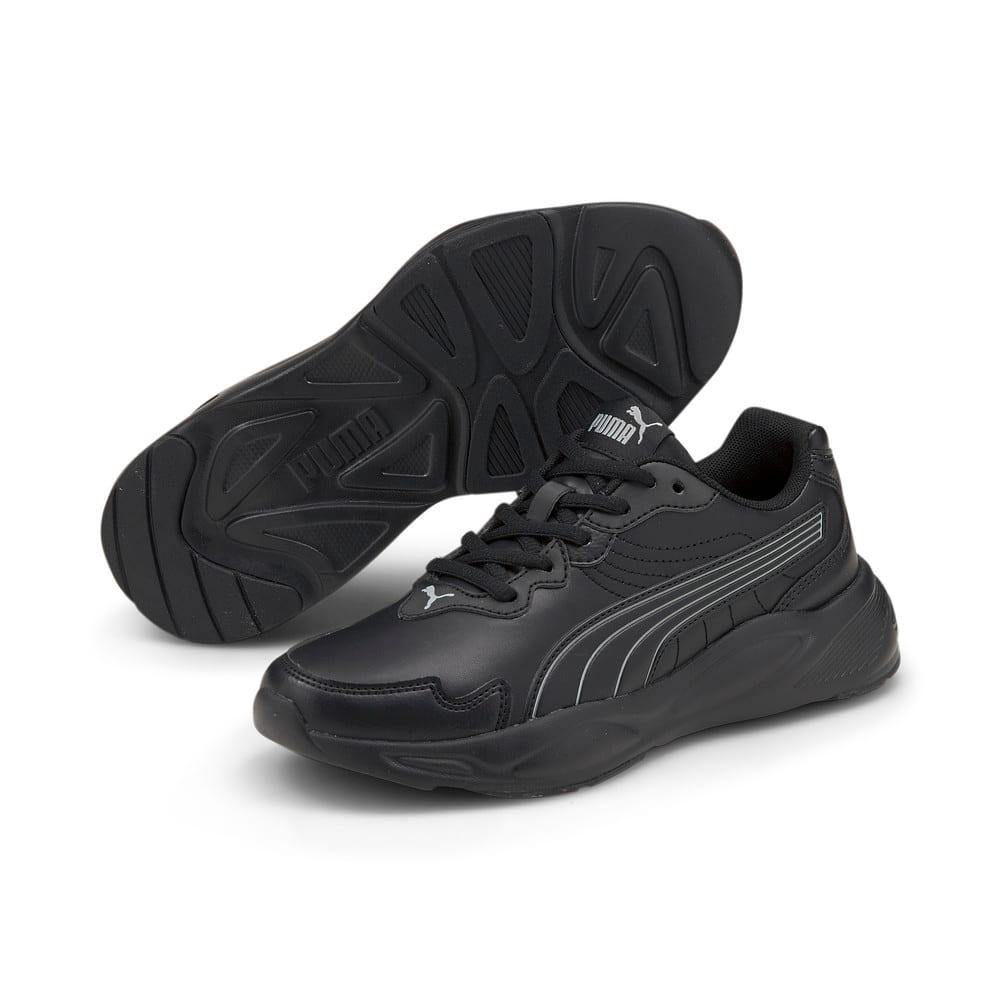 Зображення Puma Дитячі кросівки 90s Runner Nu Wave SL Youth Trainers #2: Puma Black-Puma Black-Limestone