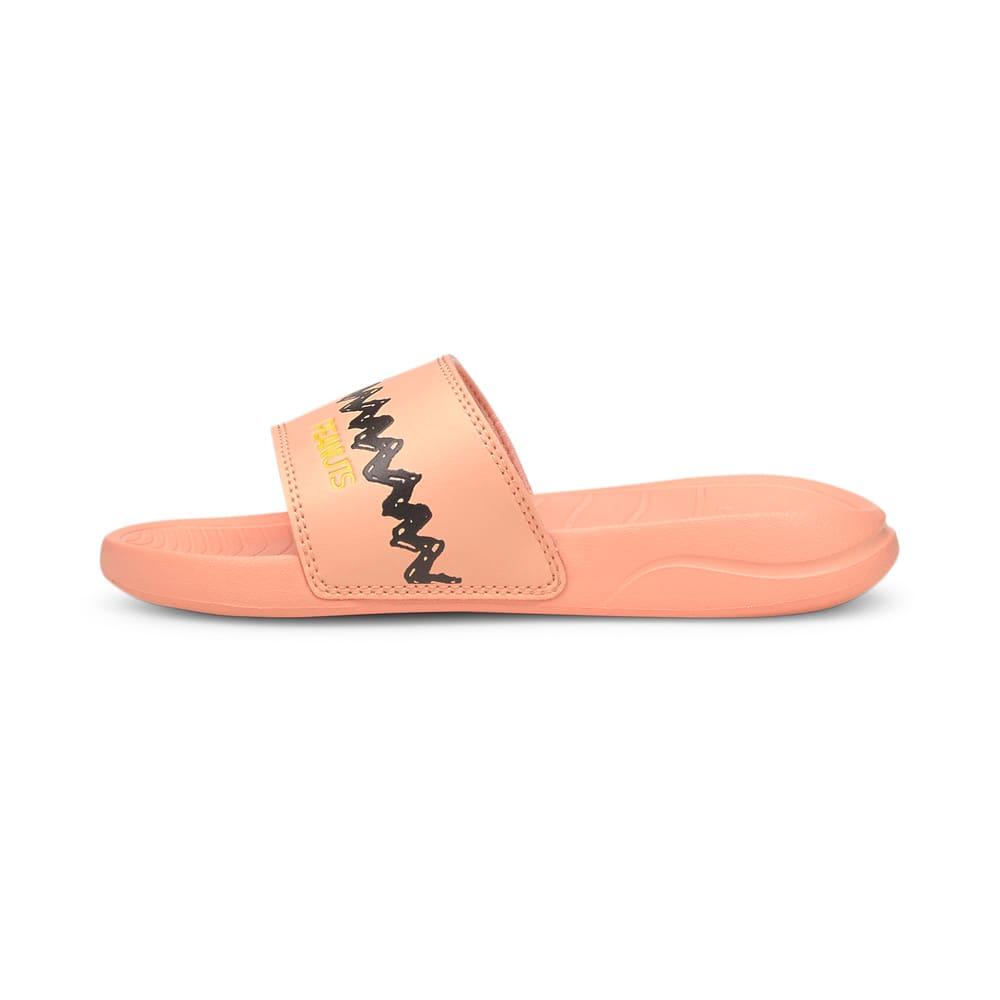 Изображение Puma Детские шлепанцы PUMA x PEANUTS Popcat 20 Kids' Sandals #1