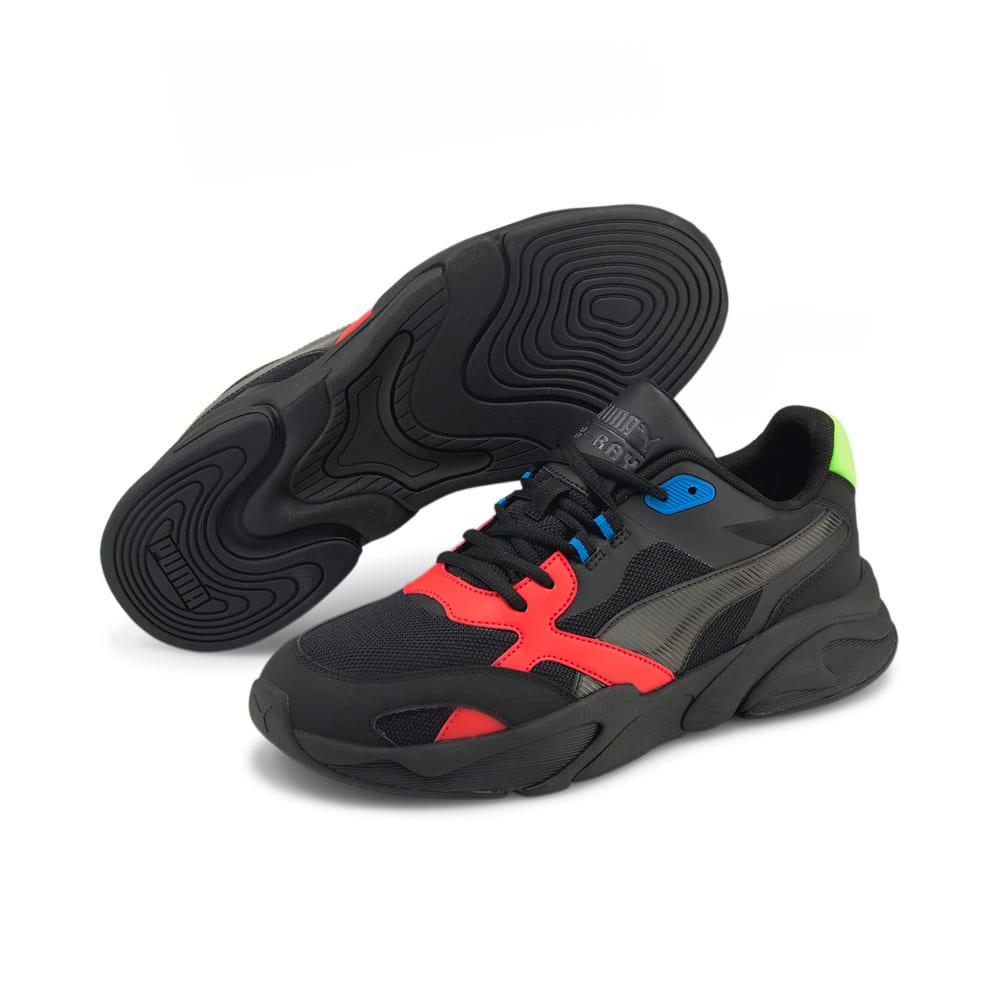Зображення Puma Кросівки X-Ray Millennium Trainers #2: Puma Black-Puma Black-Grenadine-Green Flash-Future Blue