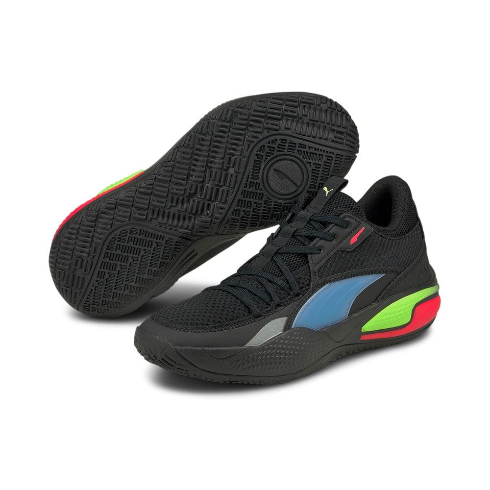Зображення Puma Кросівки Court Rider Pop Basketball Shoes #2: Puma Black-Bluemazing