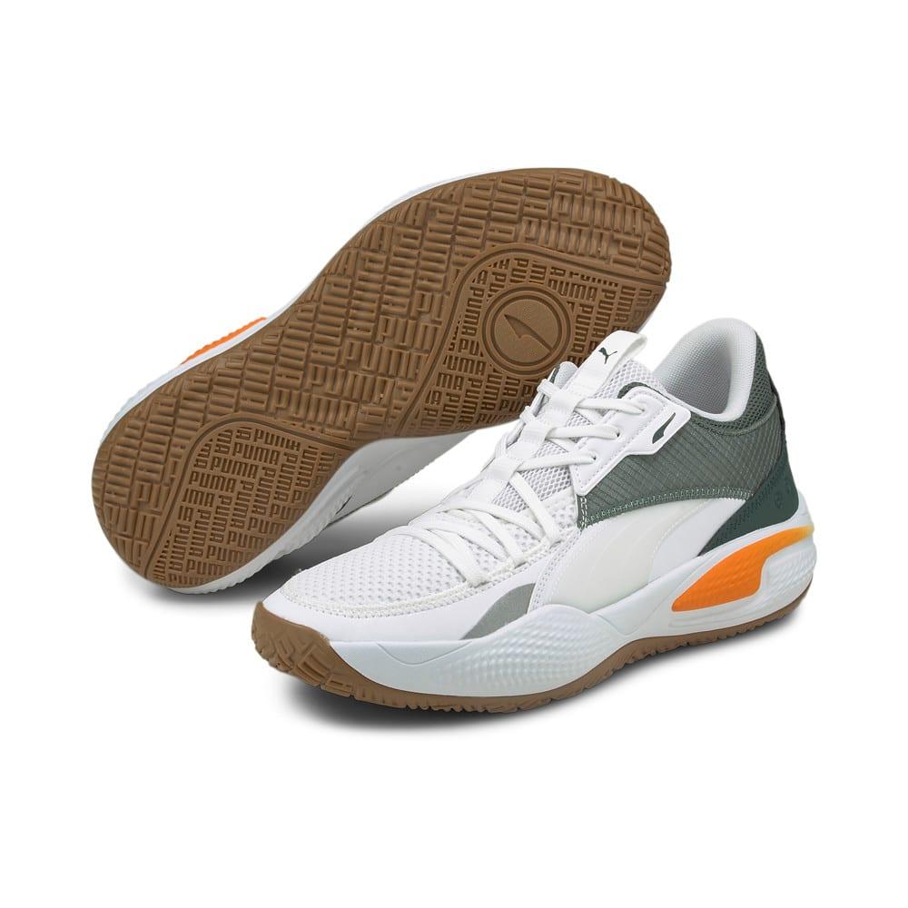 Image Puma Court Rider Pop Basketball Shoes #2
