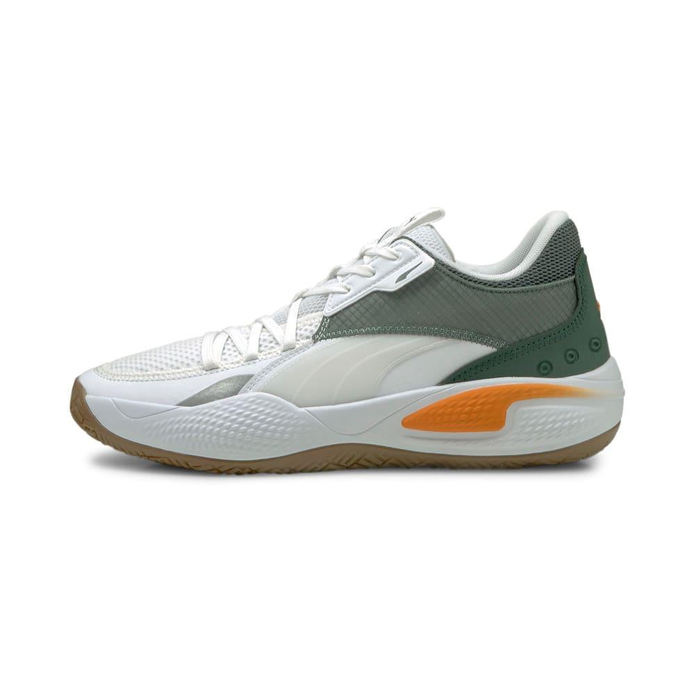 Image Puma Court Rider Pop Basketball Shoes #1