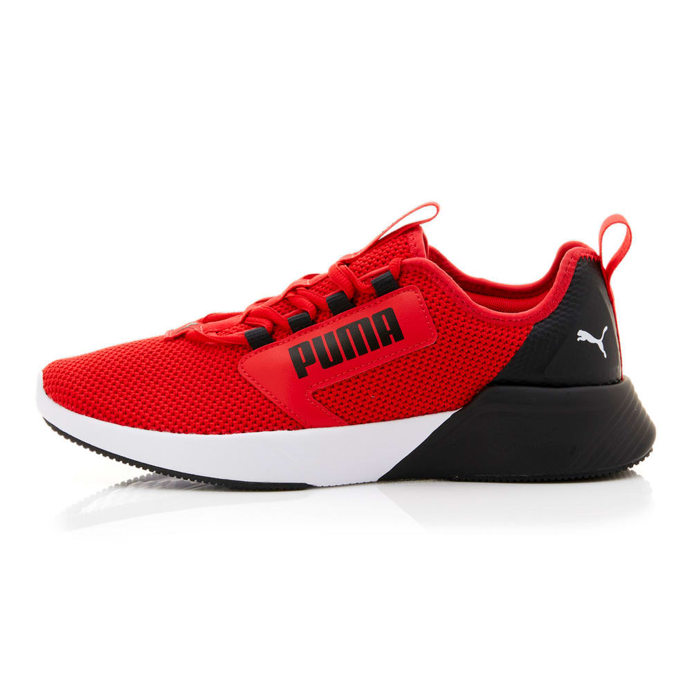 Изображение Puma Кроссовки Retaliate Tongue Men's Running Shoes #1: High Risk Red-Puma Black-Puma White