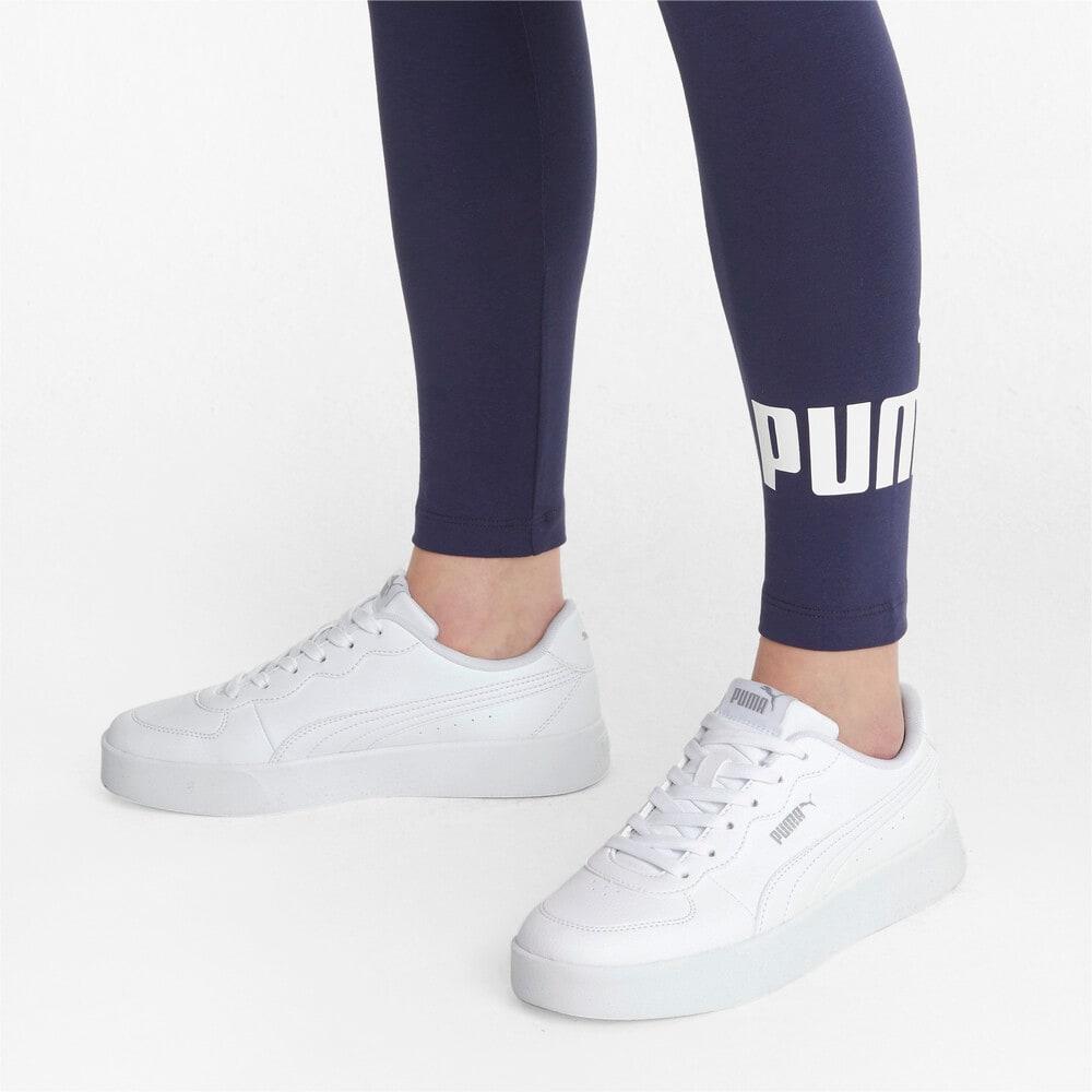 Зображення Puma Кеди Skye Clean Women's Trainers #2: Puma White-Puma White-Puma Silver