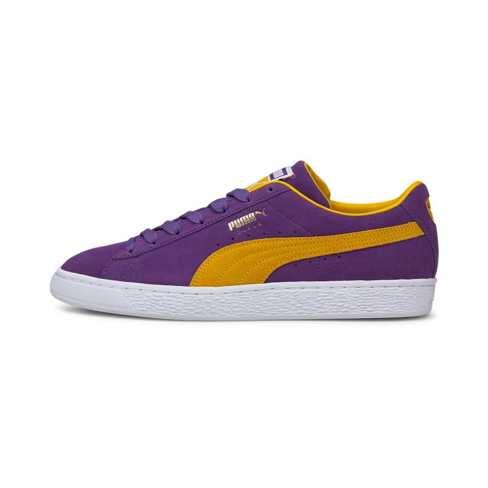 Изображение Puma Кеды Suede Teams Trainers #1: Prism Violet-Spectra Yellow