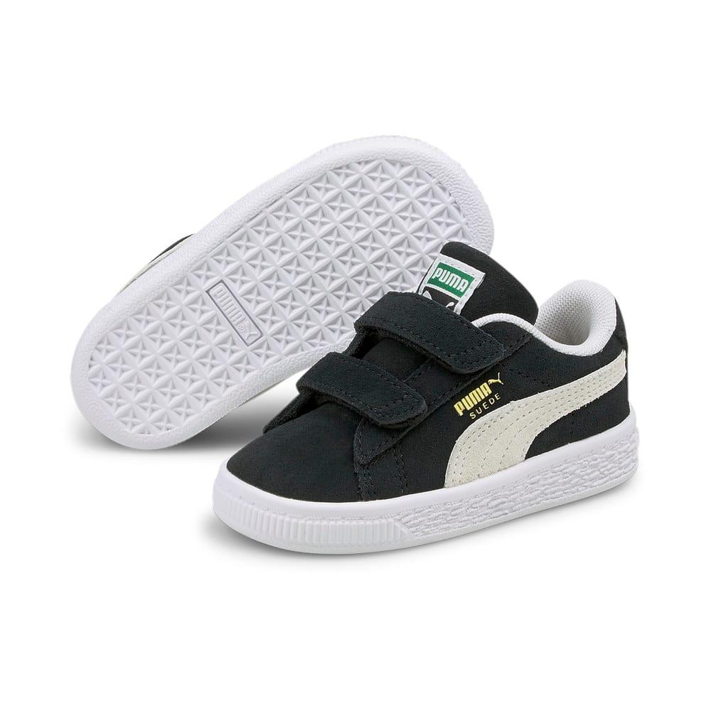Изображение Puma Детские кеды Suede Classic XXI Babies' Trainers #2: Puma Black-Puma White