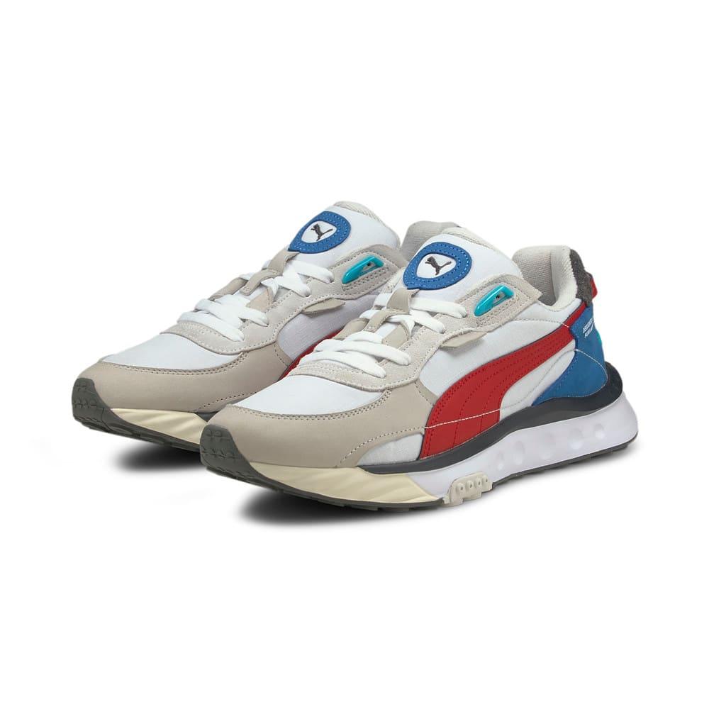 Зображення Puma Кросівки Wild Rider Layers Sneakers #2: Puma White-Urban Red