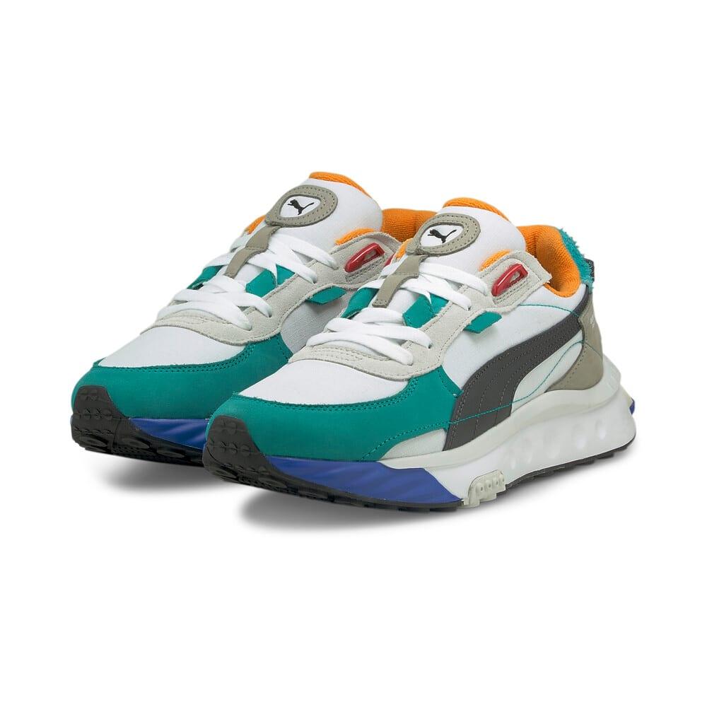Зображення Puma Кросівки Wild Rider Layers Sneakers #2: Puma White-Viridian Green