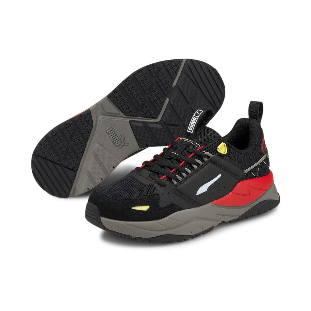 Зображення Puma Кросівки X-Ray² Ramble Trainers #2: Puma Black-Puma White-Yellow Pear-High Risk Red-Steel Gray