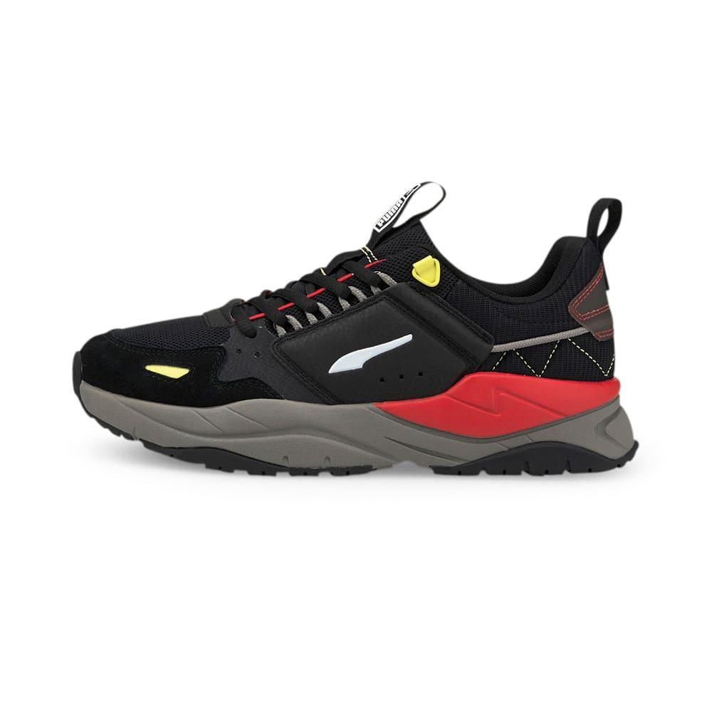 Зображення Puma Кросівки X-Ray² Ramble Trainers #1: Puma Black-Puma White-Yellow Pear-High Risk Red-Steel Gray