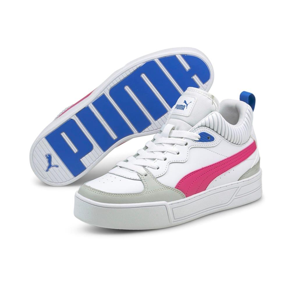 Изображение Puma Кеды Skye Demi Women's Trainers #2: Puma White-Beetroot Purple-Gray Violet-Future Blue