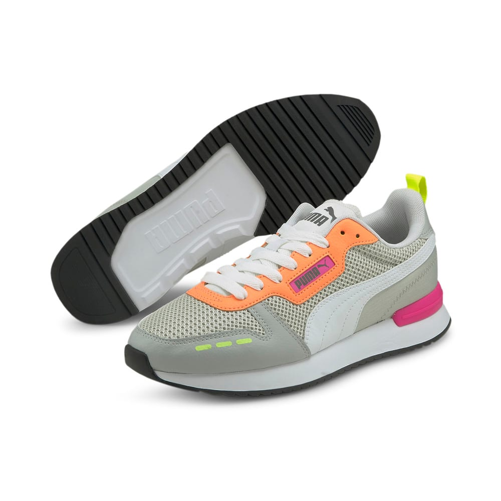 Зображення Puma Кросівки R78 OG Trainers #2: Gray Violet-White-Steel Gray
