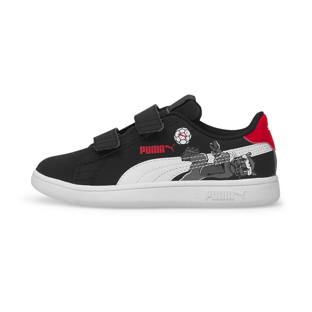 Зображення Puma Дитячі кеди Smash v2 Lil PUMA V Kids' Trainers #1: Puma Black-Puma White