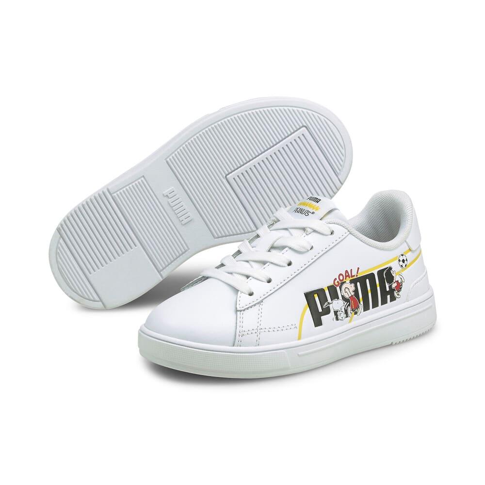 Image Puma PUMA x PEANUTS Serve Pro Kids' Trainers #2