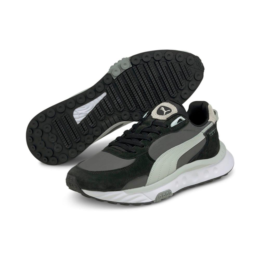 Зображення Puma Кросівки Wild Rider Rollin' Sneakers #2: Puma Black-CASTLEROCK