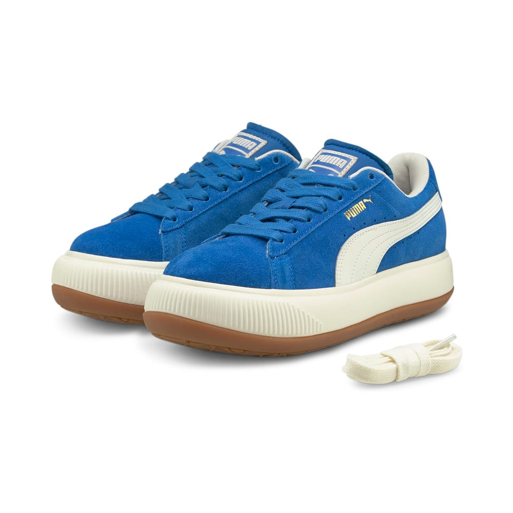 Зображення Puma Кеди Suede Mayu UP Wn's #2: Lapis Blue-Marshmallow-Gum 3