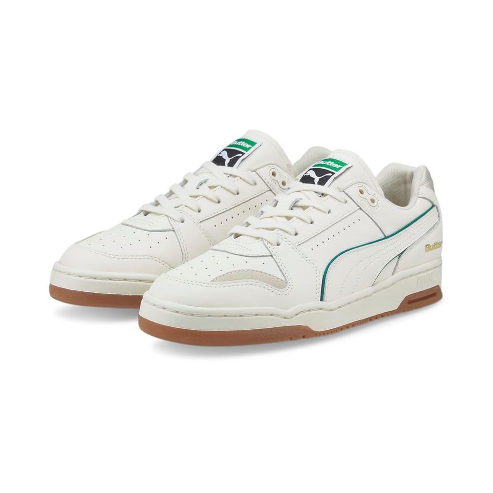 Зображення Puma Кросівки PUMA x BUTTER GOODS Slipstream Lo Trainers #2: Whisper White-Cadmium Green