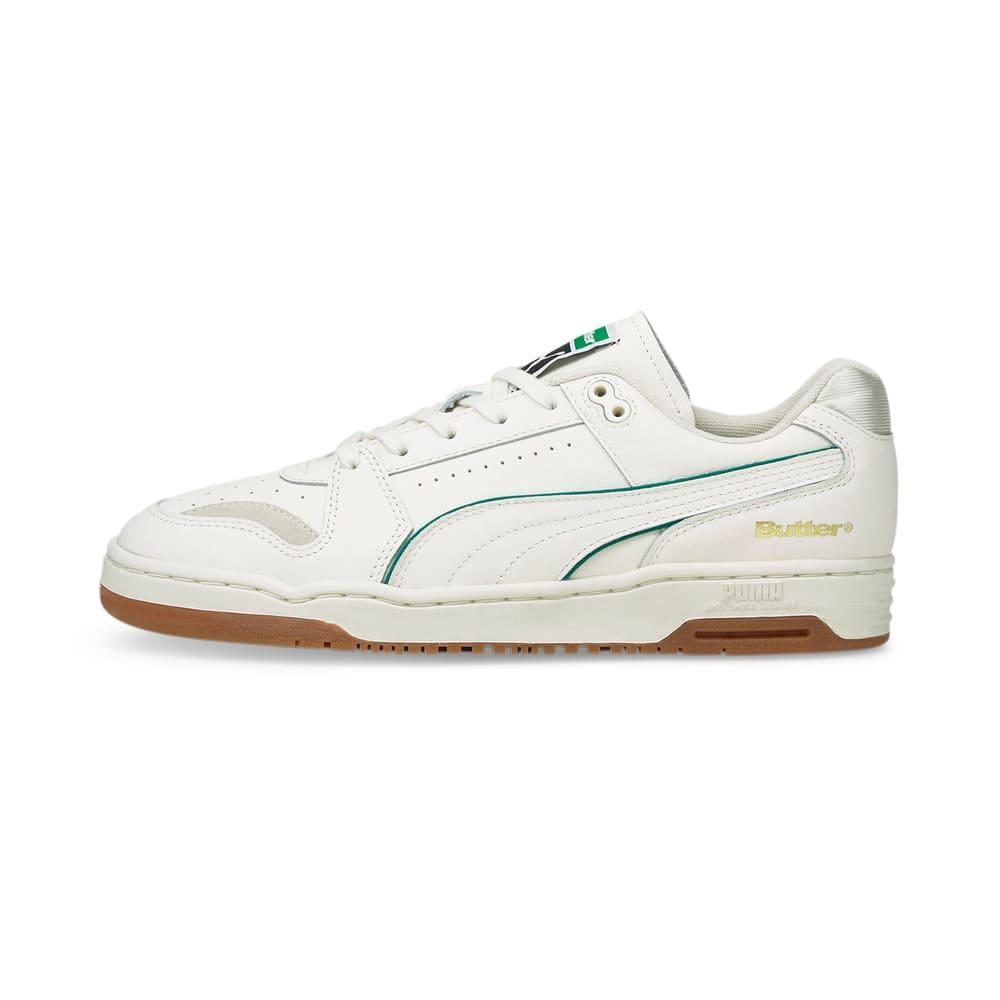 Зображення Puma Кросівки PUMA x BUTTER GOODS Slipstream Lo Trainers #1: Whisper White-Cadmium Green