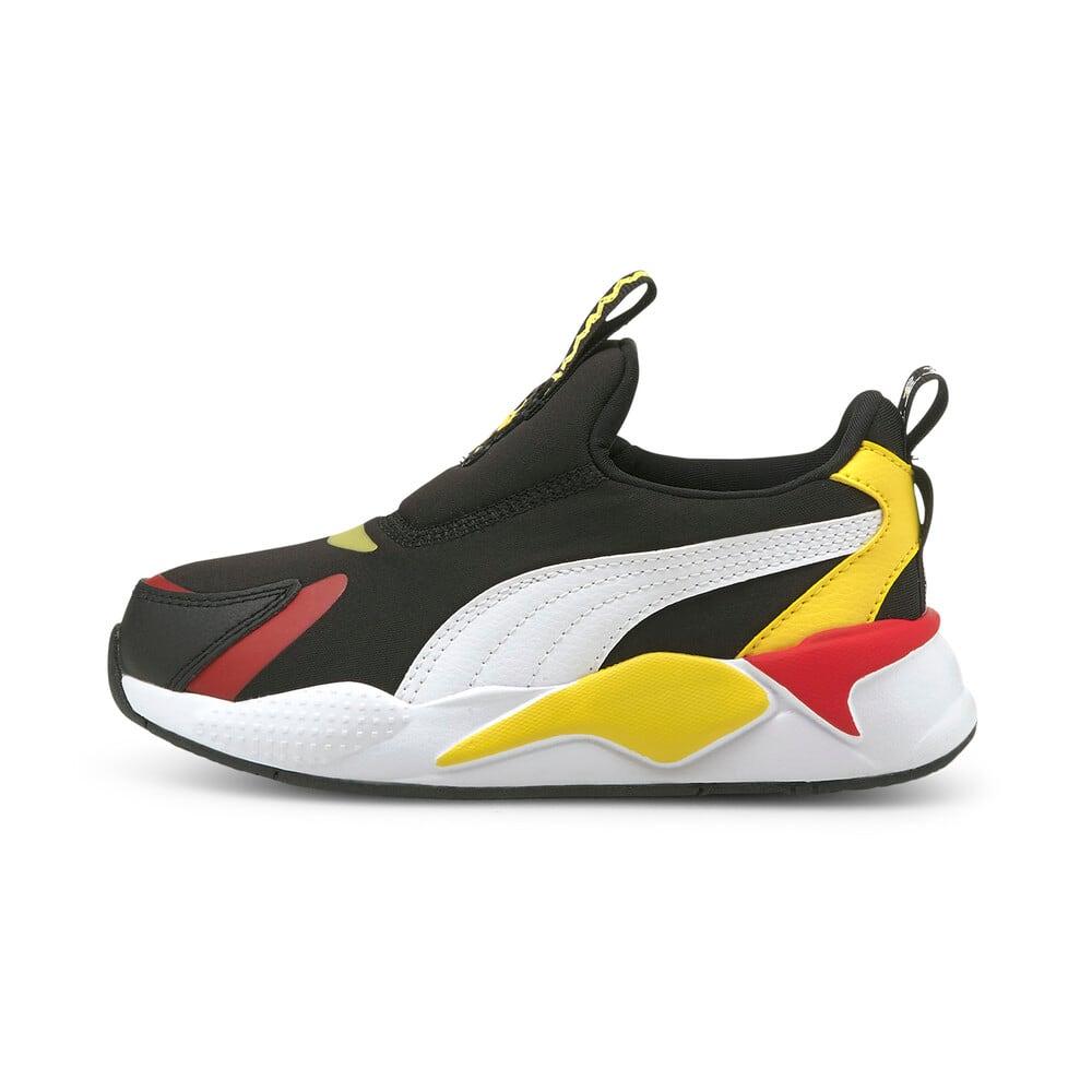 Зображення Puma Дитячі кросівки PUMA x PEANUTS RS-X³ Slip-On Kids' Trainers #1: Puma Black-Puma White