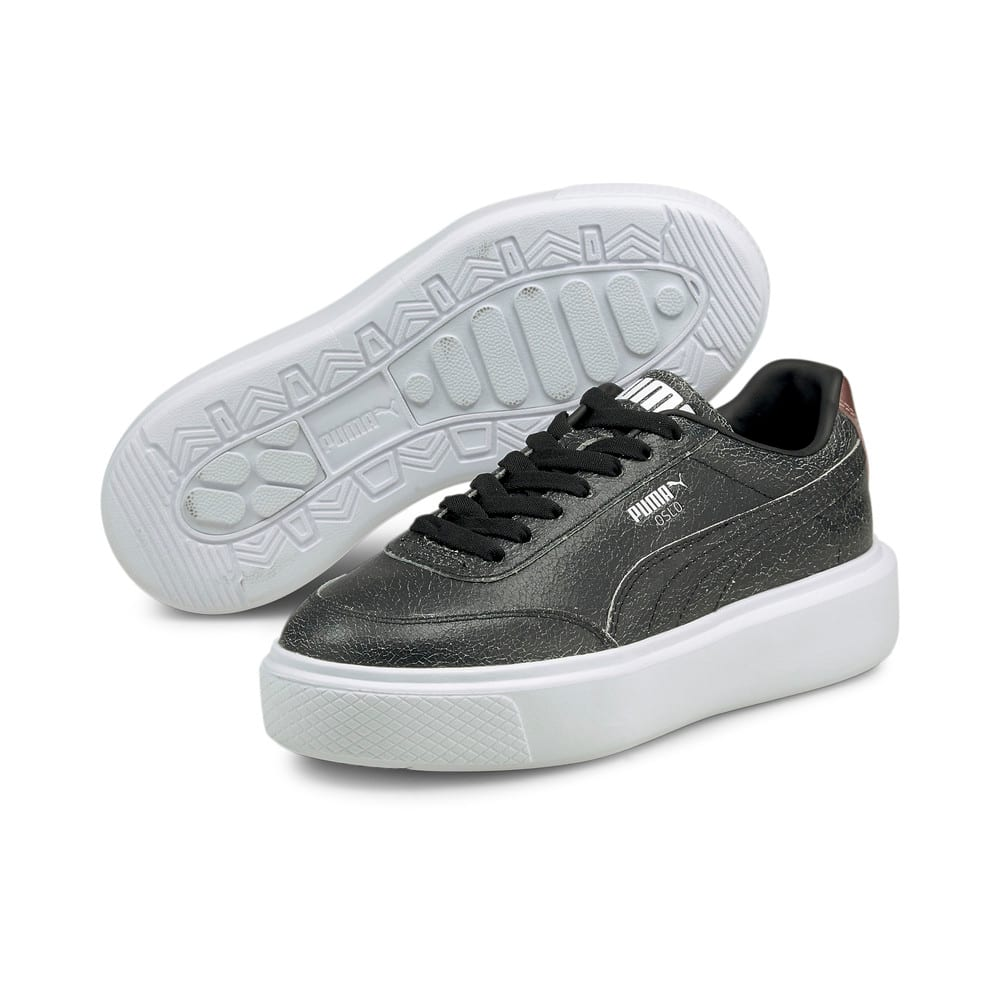 Изображение Puma Кеды Oslo Maja Cracked Women's Trainers #2