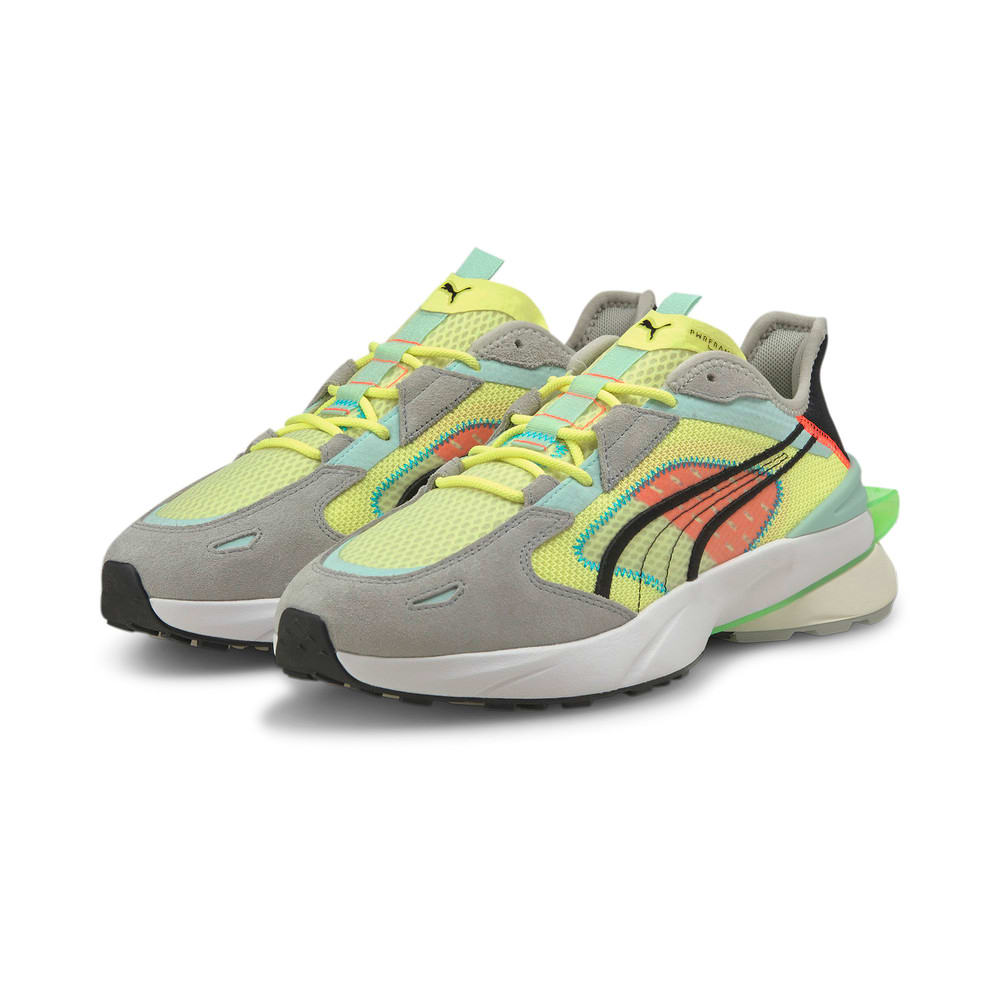 Image Puma PWRFRAME OP-1 Abstract Trainers #2