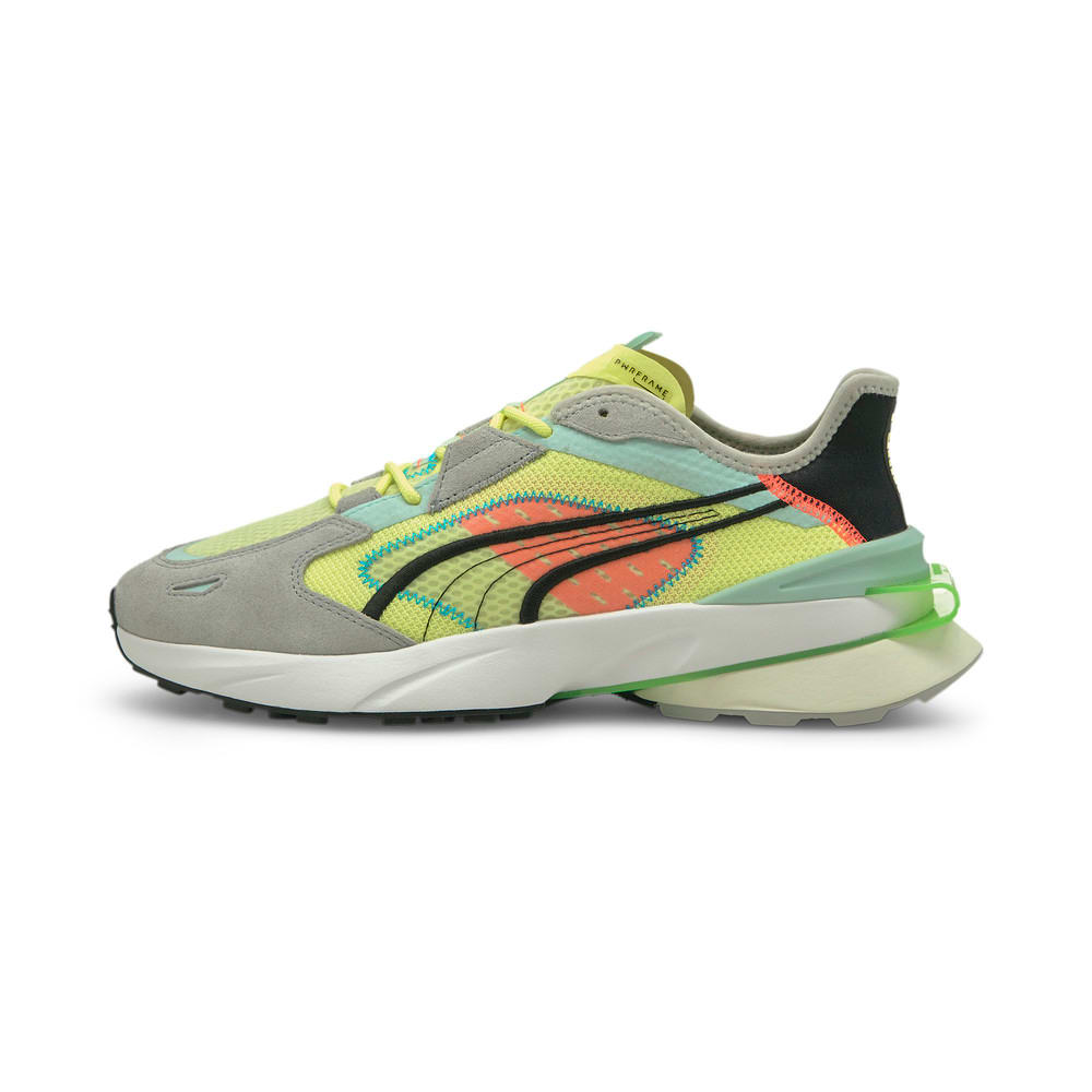 Image Puma PWRFRAME OP-1 Abstract Trainers #1