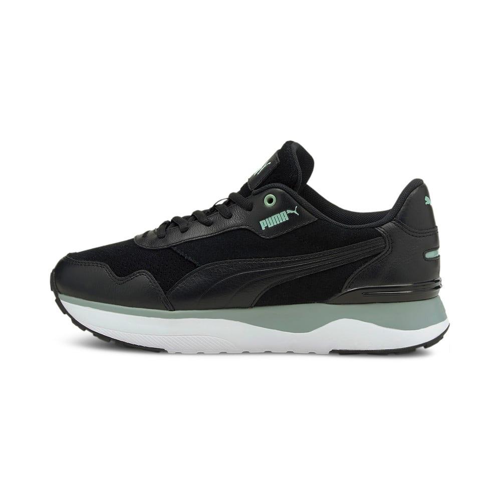 Зображення Puma Кросівки R78 Voyage Premium Women's Trainers #1: Puma Black-Puma Black-Jadeite