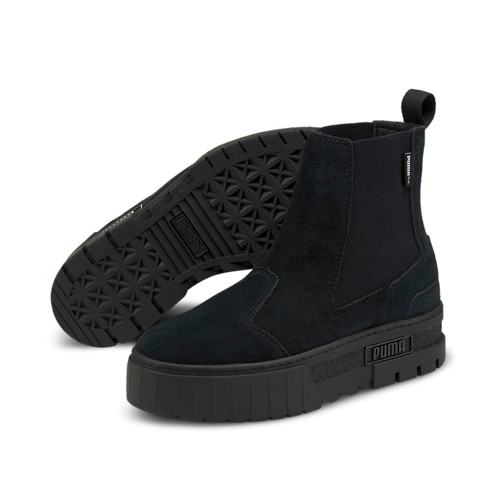 Зображення Puma Черевики Mayze Chelsea Suede Women's Boots #2: Puma Black