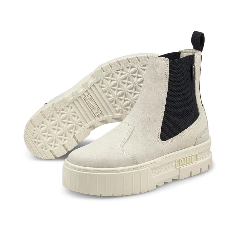 Зображення Puma Черевики Mayze Chelsea Suede Women's Boots #2: Marshmallow