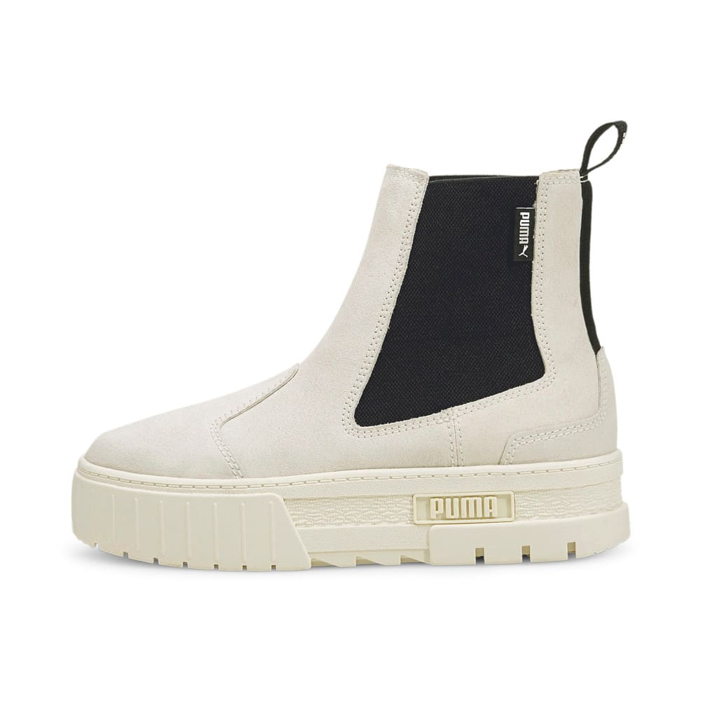 Зображення Puma Черевики Mayze Chelsea Suede Women's Boots #1: Marshmallow