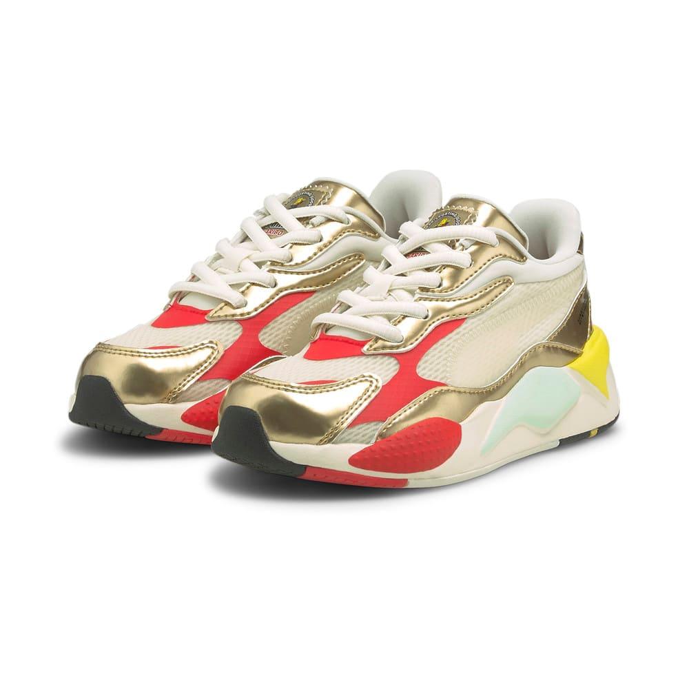 Изображение Puma Детские кроссовки PUMA x HARIBO RS-X Kids' Trainers #2: Whisper White-Puma Team Gold